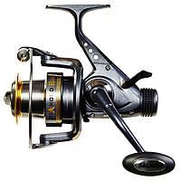 Катушка безинерционная для удилища Salmo Diamond Baitfeeder 3160BR / Катушка для рыбалки черного цвета