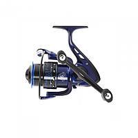 Катушка безинерционная для удилища Salmo Diamond MATCH 6 3420FD / Катушка для рыбалки черно-синего цвета