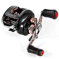 Катушка мультипликаторная для удилища Salmo Elite BAITCAST 6 M5030L / Катушка для рыбалки черного цвета