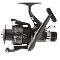 Катушка безынерционная для удилища Salmo Sniper BAITFEEDER 1 2730BR / Катушка для рыбалки черного цвета
