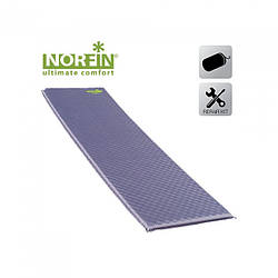 Коврик самонадувающийся Norfin ATLANTIC NF 3.8см фиолетового цвета