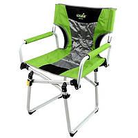 Кресло складное Norfin Mikkeli NF Alu зеленого цвета
