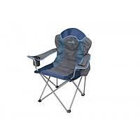 Кресло складное Norfin Rauma NFL синего цвета