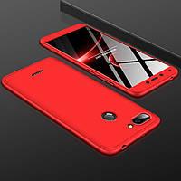 Чехол GKK 360 для Xiaomi Redmi 6 бампер оригинальный Red