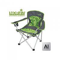 Кресло складное Norfin Verdal NF зеленого цвета