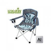 Кресло складное Norfin Verdal NFL Alu синего цвета