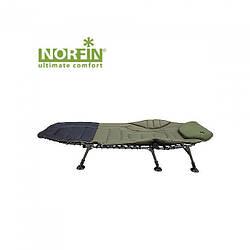 Кровать для рыбалки и туризма Norfin Bristol NF оливкового цвета