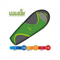 Мешок-кокон спальный Norfin Scandic Plus 350 NF (left) зеленого цвета