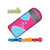 Мешок-одеяло спальный Norfin Lady 350 NFL (left) розового цвета