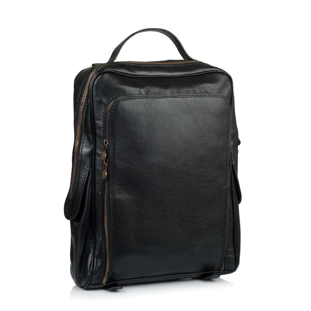 98a121cfac67 Рюкзак Virginia Conti VCM00354A кожаный Черный: 600543998