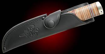 Чохол шкіряний Fallkniven для NL5 чорного кольору