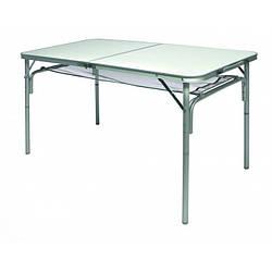 Стол складной Norfin GAULA NF алюминиевый зеленого цвета