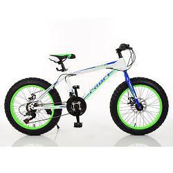"""Велосипед 20"""" Profi 1.0 S20.3 Бело-салатовый (int1.0 S20.3)"""