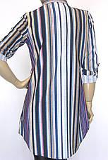 Жіноча сорочка-туніка в полоску Promisse , фото 2