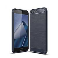 Чехол Carbon для Asus ZenFone 4 ZE554KL / z01kd бампер синий