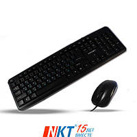 Проводной  набор клавиатура и мышь Crown CMMK-860  (CMMK-860)