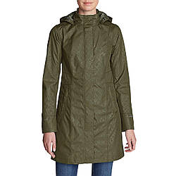 Плащ Eddie Bauer Womens Girl on the Go DK THYME M Темно-зеленый (7343DKTH-M)