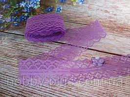 """Кружево """"Орнамент"""", 2,8 см, цвет фиолетовый"""