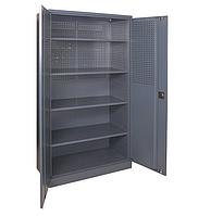 Шкаф инструментальный ШИ-10/4 П (1970х1000х500 мм), металлический шкаф для инструментов
