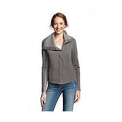 Жакет Eddie Bauer Womens Asymmetrical Versa Knit Jacket HTR L Серый (7483HGY)
