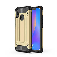 Чехол Guard для Huawei P Smart Plus / Nova 3i / INE-LX1 Бампер бронированный Gold