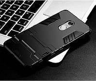 Чехол Iron для Xiaomi Redmi note 3 / note 3 pro бронированный Бампер Броня черный