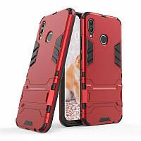 Чехол Iron для Huawei P Smart Plus / Nova 3i / INE-LX1 бронированный Бампер Броня Red