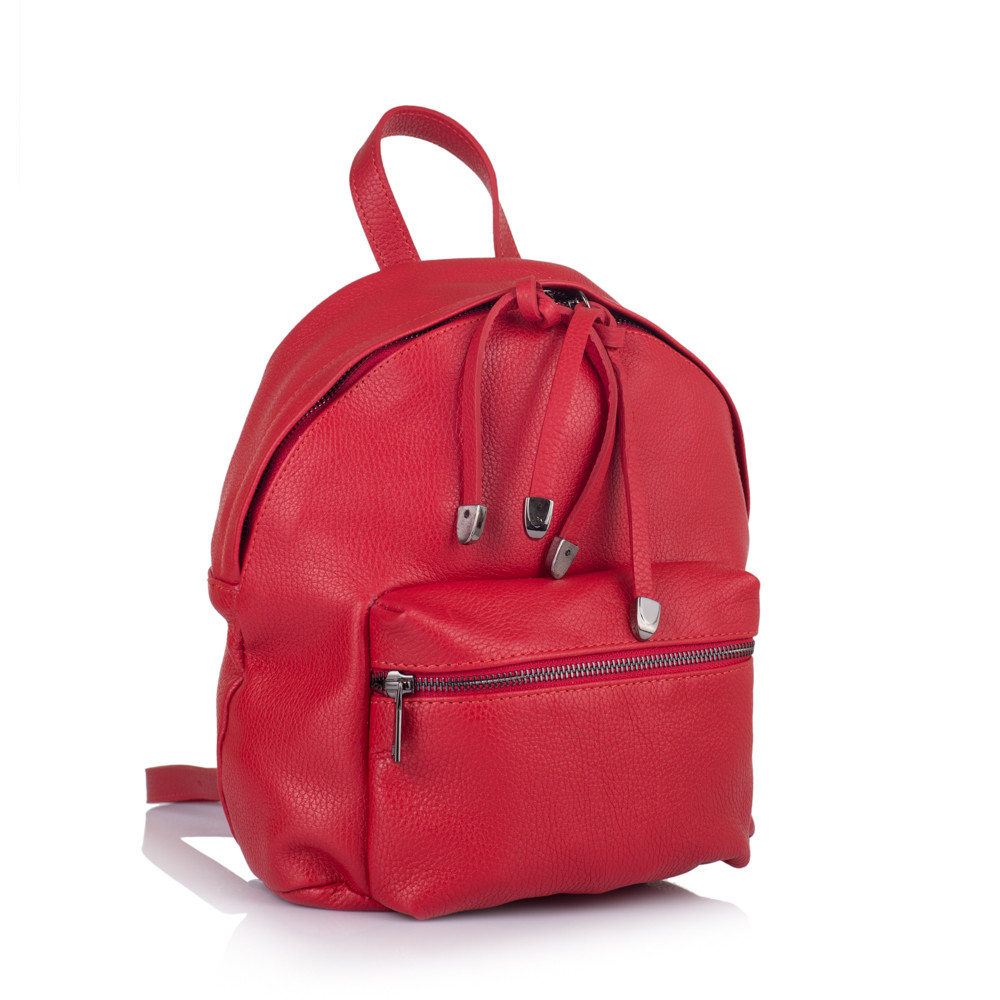 1b8e38806a62 Рюкзак Virginia Conti VC8300red кожаный Красный - Интернет-магазин