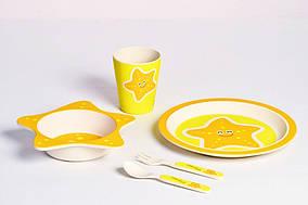 Набор посуды Con Brio CB-253 Для Детей Морская звезда (5 предметов)