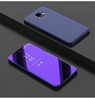 Чехол Mirror для Samsung A6 2018 / A600F книжка зеркальный Purple