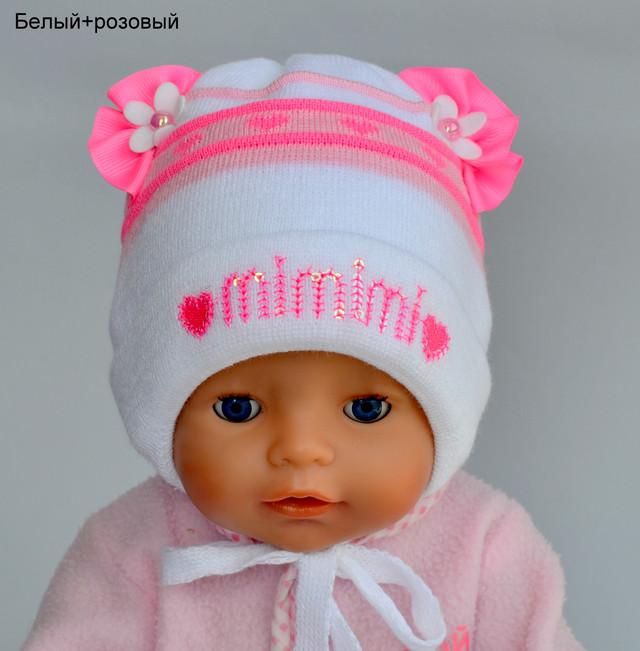 новорожденный шапка девочка