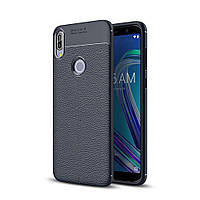 Чехол Touch для Asus Zenfone Max Pro (M1) / ZB601KL / ZB602KL / x00td бампер Auto Focus синий