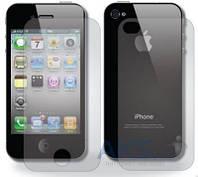 Защитное стекло Tempered Glass Apple iPhone 4, iPhone 4S (Экран + Задняя крышка)