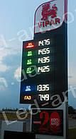 Светодиодное табло для АЗС LED-ART-Stela-250-19+, ценовой модуль для АЗС