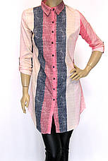 Рубашка-туника в полоску Promisse , фото 2