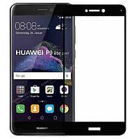 Защитное стекло AVG для Huawei P8 lite 2017 / P9 lite 2017 полноэкранное черное