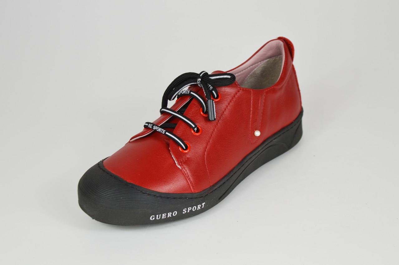 Красные женские кеды Guero 1956