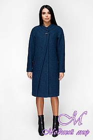 Демисезонное женское пальто больших размеров (р. 44-54) арт. 1170 Тон 108