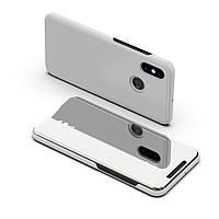 Чехол Mirror для Xiaomi Mi A2 Lite / Redmi 6 Pro книжка Silver