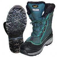 Ботинки мужские Norfin Snow для рыбалки и охоты голубого цвета