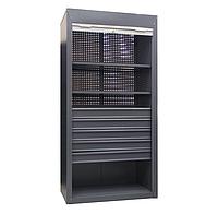 Шкаф инструментальный ролетный ШИ-10/2П/5В Р (1970х1000х500 мм), металлический шкаф для инструментов