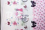 """Комплект постельного белья полуторный из бязи ТМ """"Ловец снов"""", Аленький цветочек, фото 2"""