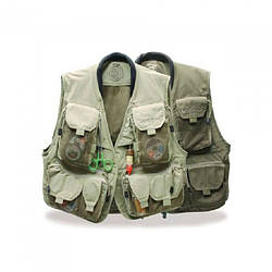 Жилет Caribou Vest Vision для охоты и рыбалки зеленого цвета