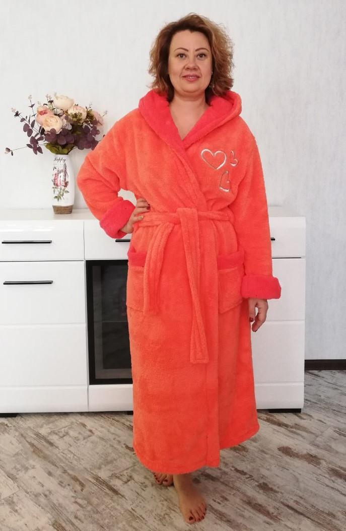 d46b0c95d4aba Теплый женский махровый халат, цена 703,99 грн., купить в Харькове ...