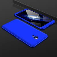 Чохол GKK 360 для Meizu M3 Note бампер оригінальний Blue