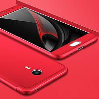 Чохол GKK 360 для Meizu M3 Note бампер оригінальний накладка Red