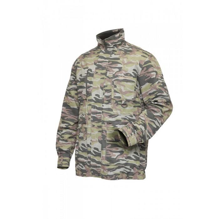 Куртка мужская Norfin Nature Pro Camo для рыбалки и охоты цвета камуфляж
