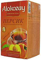 """Чай черный Алокозай """"Персик"""" 25п"""