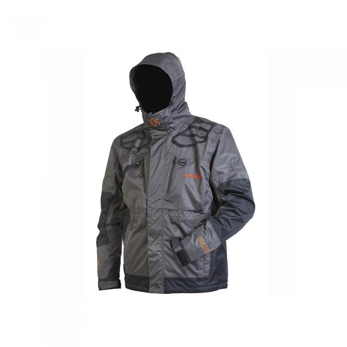 Куртка Norfin River Thermo для рыбалки и охоты серого цвета