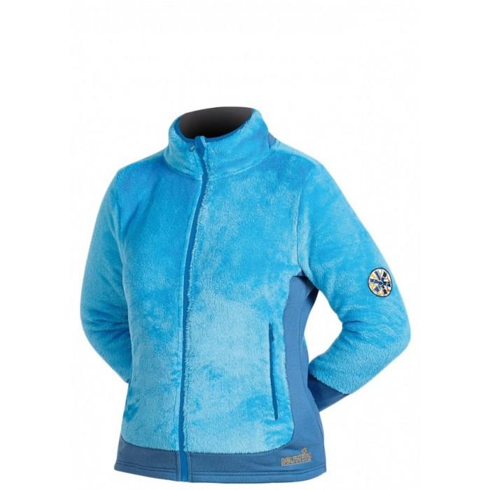 Куртка женская флисовая Norfin Moonrise голубого цвета